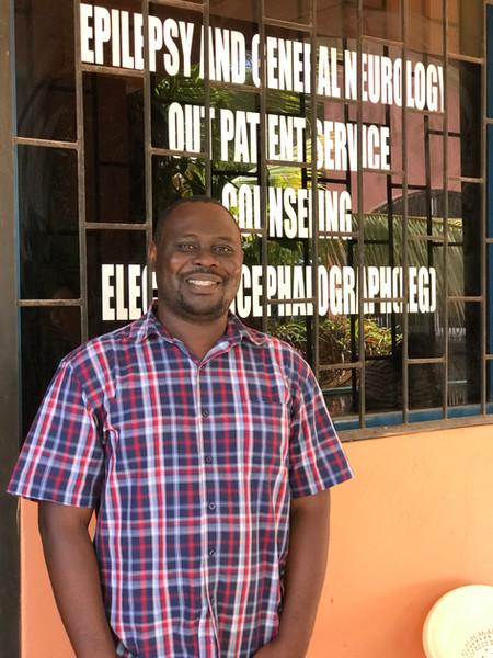 Eddie Chengo is an epileptologist whose clinic in Malindi works closely with the Neuro-sciences unit