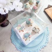 Bean paste floral cupcakes 豆沙裱花杯子蛋糕
