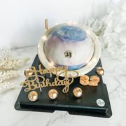 閃亮星球敲敲蛋糕 planet knock knock surprise cake