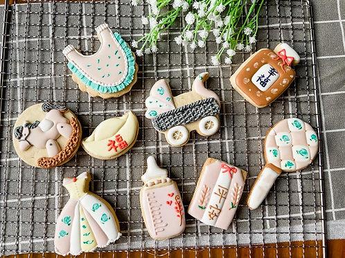 女孩系1收涎餅乾Taiwanese Slobber Cookies