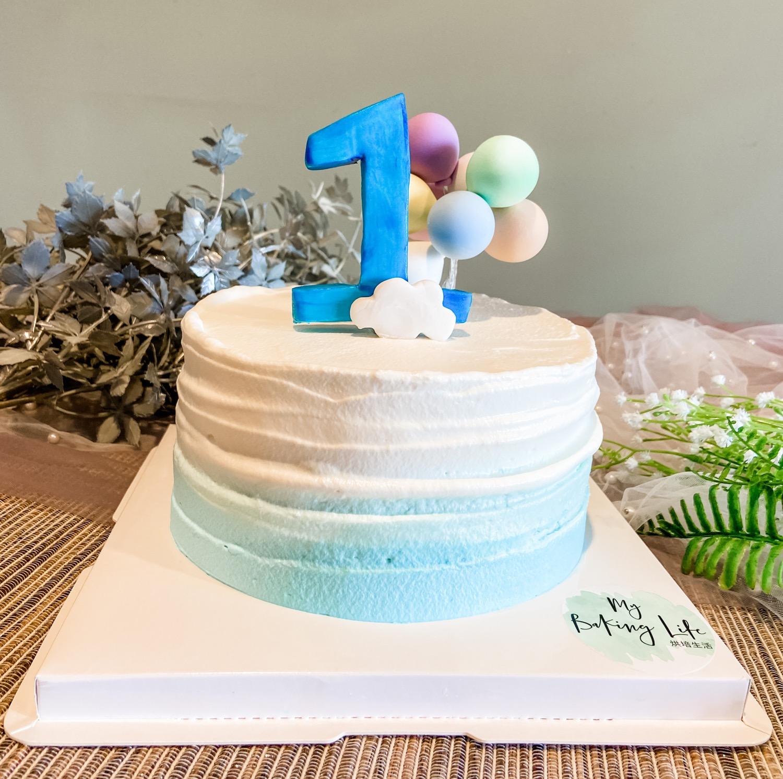 男寶周歲蛋糕