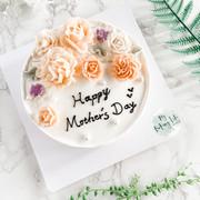 Mother's Day cake 母親節裱花蛋糕