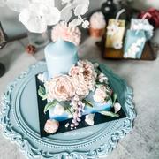 Knife floral candles 刮刀花蠟燭