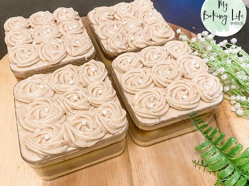 4寸芋泥焦糖布丁蛋糕