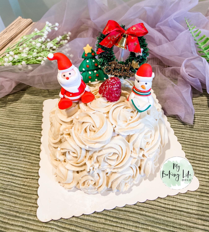 伯爵奶油蛋糕聖誕款