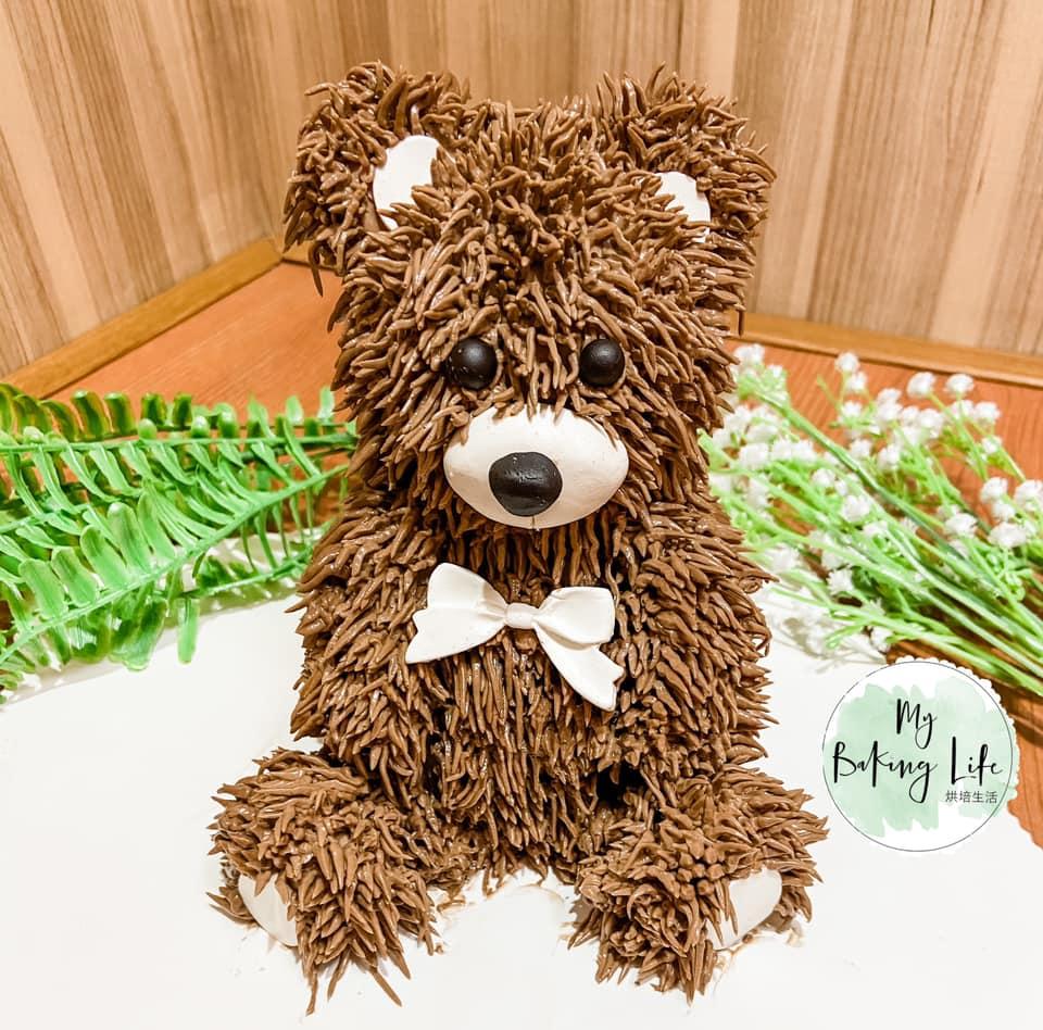 五寸熊熊蛋糕