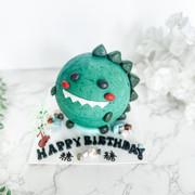 恐龍敲敲蛋糕Dino knock knock cake