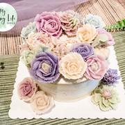 滿花環蛋糕