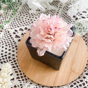 Beewax flower candle-003