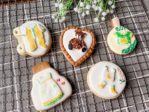 小清新風糖霜餅乾(收涎餅乾)Taiwanese Slobber Cookies