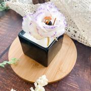 Beewax flower candle-002