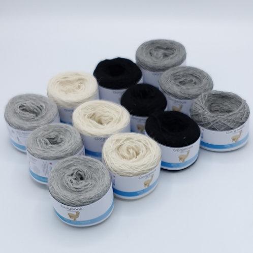 100% alpaca Gorgeous 4ply yarn