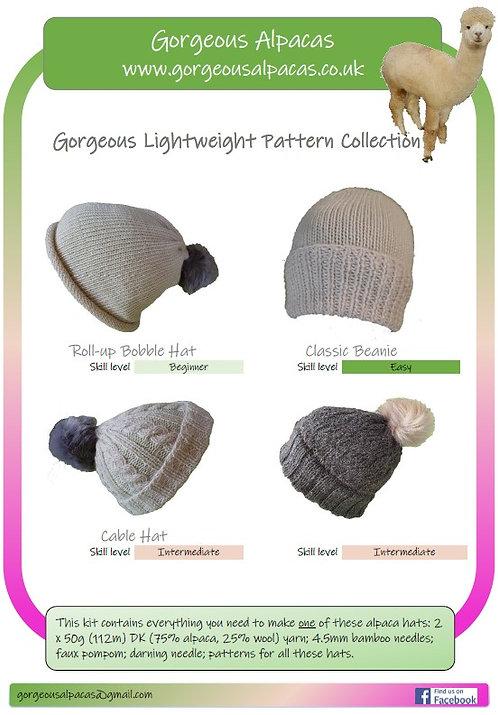 Gorgeous Lightweight Hat Knitting Kit