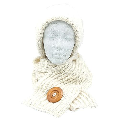 Knit Kit - Aran Hat & Scarf