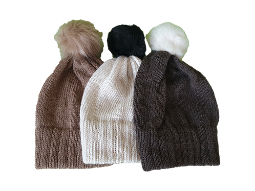 One colour Classic Knit Hat