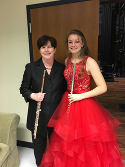Bonnie after PSO Young Artist Finals