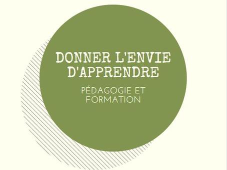 L'ART DE DONNER L'ENVIE D'APPRENDRE