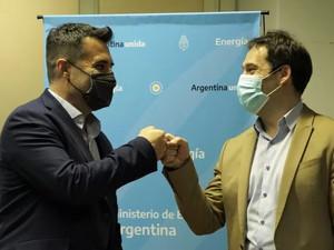 Juan Pablo Luque se reunió con Darío Martínez y gestionaron obras de energía y gas