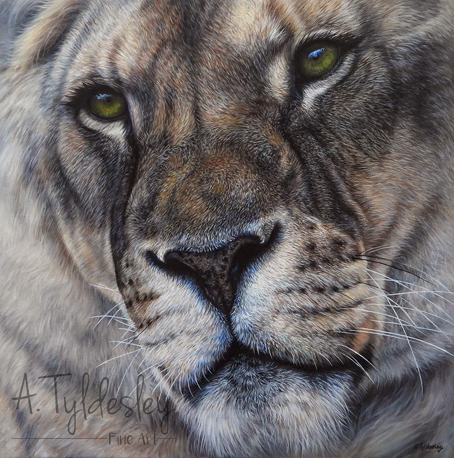 'Genesis'- 40cm x 40cm Oils on Canvas (SOLD)