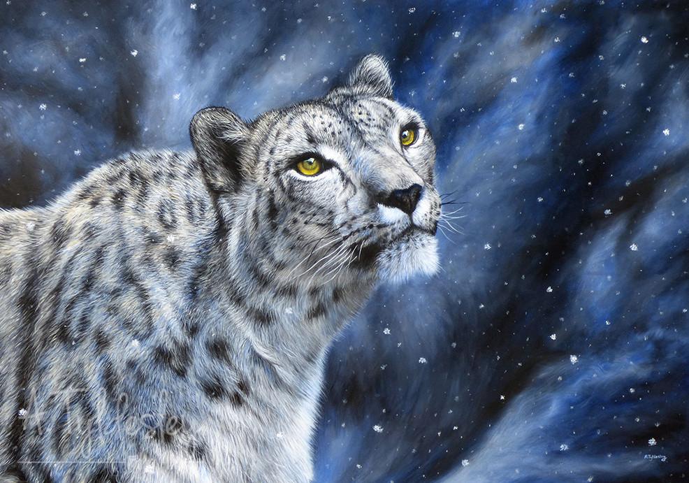 'The Snow Queen'- 100cm x 70cm Acrylic on Canvas (Available)