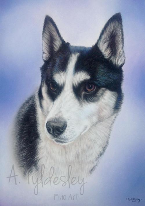 A4 Pastel Portrait