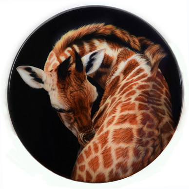'That's the Spot!' - 60cm diameter Acrylic & Resin (Available)