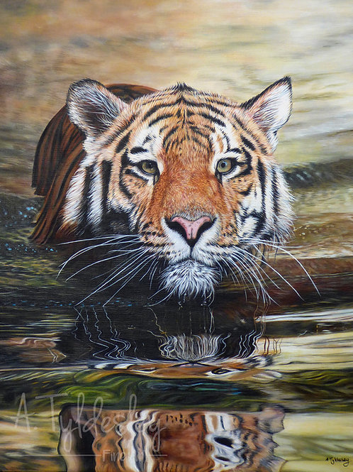 """'Time to Reflect' - Limited Edition Giclee Print 12"""" x 16"""""""