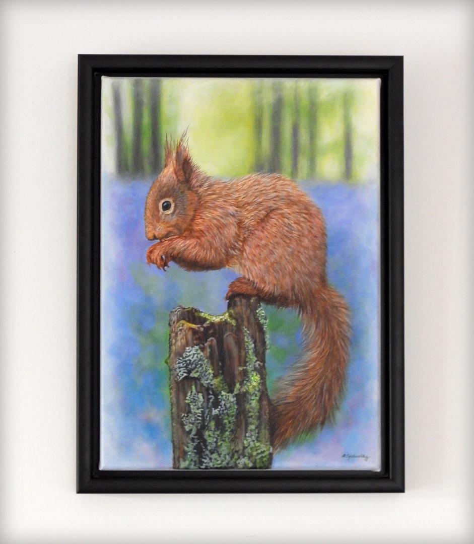 """'The Nutcracker'- 14"""" x 11"""" (plus frame) Acrylic on Canvas (Available)"""