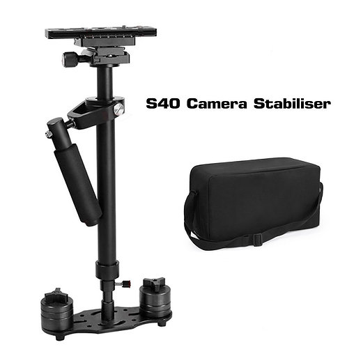 S40 Handheld Stabilizer Steadicam for Camcorder Camera Video DV DSLR with Bag UK