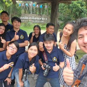 การเรียนถ่ายภาพนอกสถานที่ครั้งแรก ของนักเรียน THCL Academy
