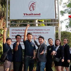 THCL Academy พานักเรียน เข้าเยี่ยมชม บริษัทจัดหางานระดับโลก CTI Thailand