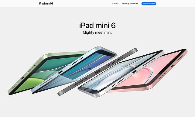 """เตรียมปล่อย """" iPad Mini 6 """" หรือ iPad Air 4 ย่อส่วน"""