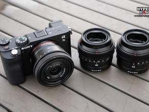 Sony เปิดตัวเลนส์ 3 รุ่นในซี่รีส์ G | 24 mm f/2.8, 40 mm f/2.5, 50 mm f/2.5
