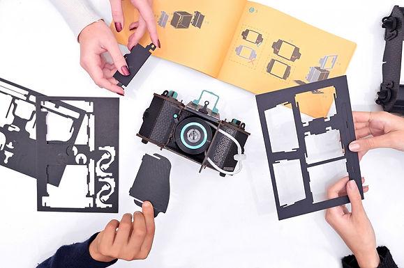 LomoMod No.1 กล้องกระดาษที่ถ่ายได้จริง ง่ายๆ แค่หยดน้ำ