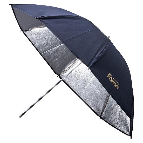 Fokon Umbrella ( Black & Silver )