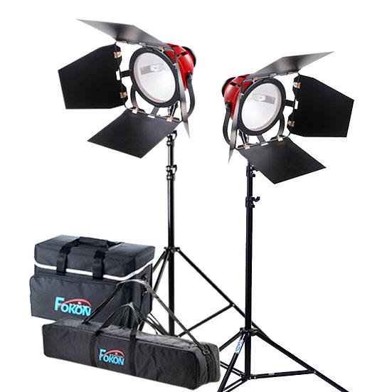 ชุดไฟสปอดไลท์ ไฟต่อเนื่องวิดีโอ FOKON รุ่น FGT-800 SET B