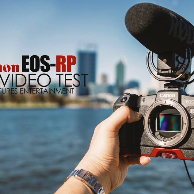 VIDEO TEST ON CANON EOS RP