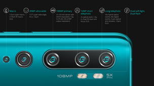 สุดยอดกล้องมือถือ 108 MP พลังซูม 50 เท่า Mi note 10 & Mi note 10 Pro