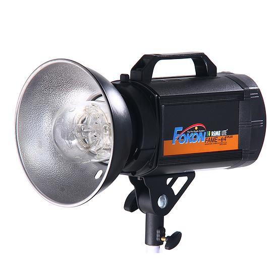 หัวไฟแฟลช FOKON FAME E4PLUS แบบใช้แบตเตอรี่ ระบบ Mannual พร