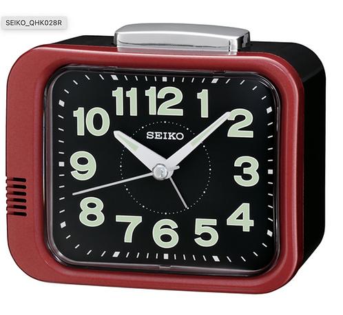 Seiko Bell Alarm - Red QHK028