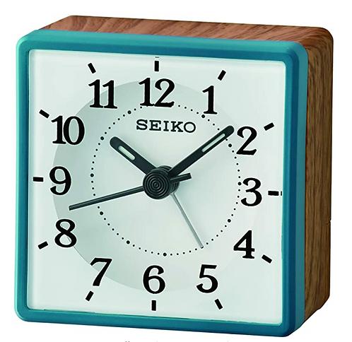 Seiko Alarm Clock - QHE175 Blue