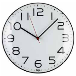 "Ergo ""Poppy"" Wall Clock"