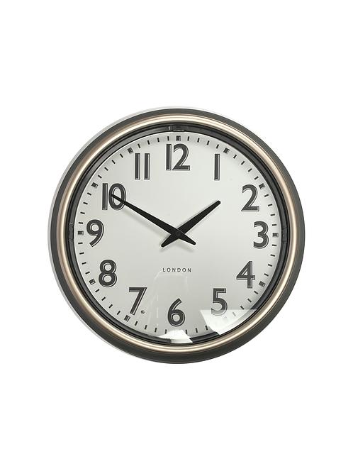 London Grey Wall Clock