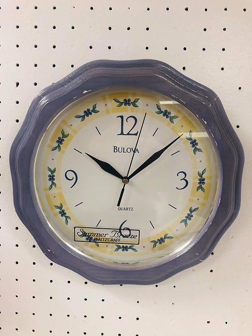 Bulova Flower - Wall Clock