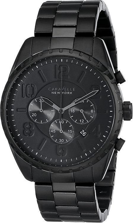 Caravelle Black Chrono