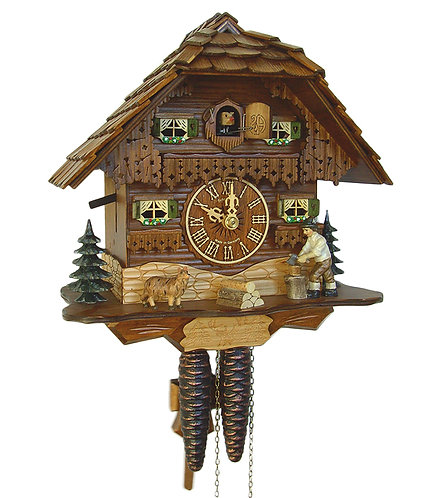 75-9 1 Day Cuckoo Clock