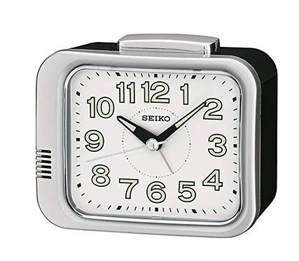 Seiko Bell Alarm - Silver QHK028