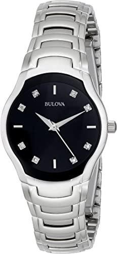 Ladies Bulova Diamond 96P146