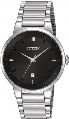 Citizen Black Dial Stainless Steel