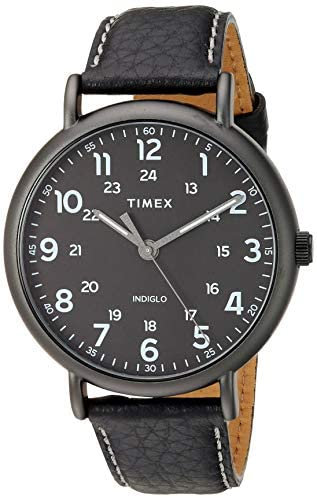 Timex- Blk/Whte Indiglo